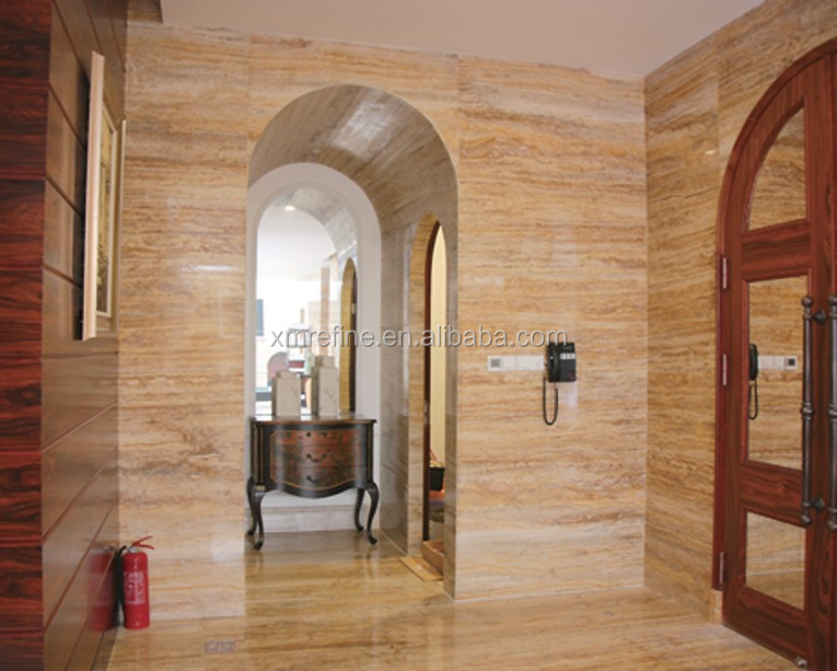 interior travertine tile paving,flooring and wall cladding
