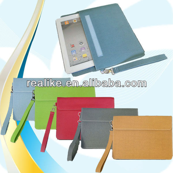 For ipad 2/3/4 carrying case with shoulder strap,Zipper case for ipad,Custom for ipad case