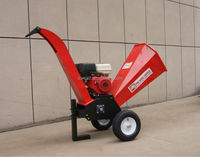15HP Loncin engine garden shredder chipper and drum wood chipper