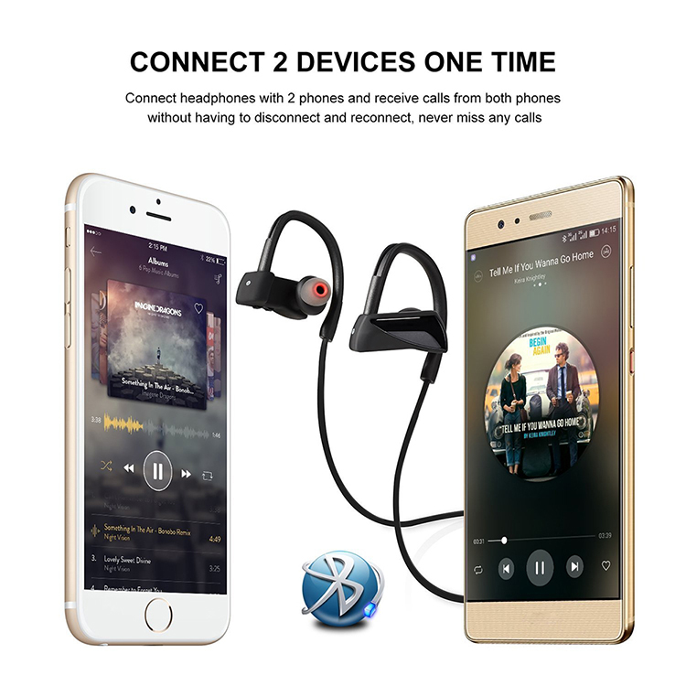 2017 top selling Christmas gifts portable sport headphones headset