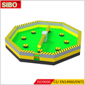 Sibo factory 2018 hot sale carnival games inflatable,0.55mm pvc eliminator inflatable game for sale