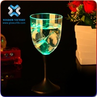 Wisdom Victory Party Supply Flashing Led Shot Glass Plastic shot glasses wholesale 2 oz glow shot glass led flashing cup