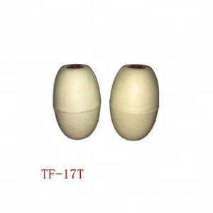 Hot selling 91mm oval color PVC float