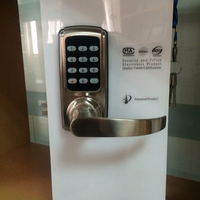Security Digital Lock Code Lock Password door Lock with one latch two latch