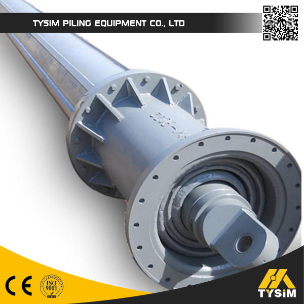 Construction tooling BAUER Type Kelly bar for crawler type rotary drilling rig parts