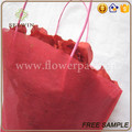 non woven drawstring packaging sleeves for cut flowers