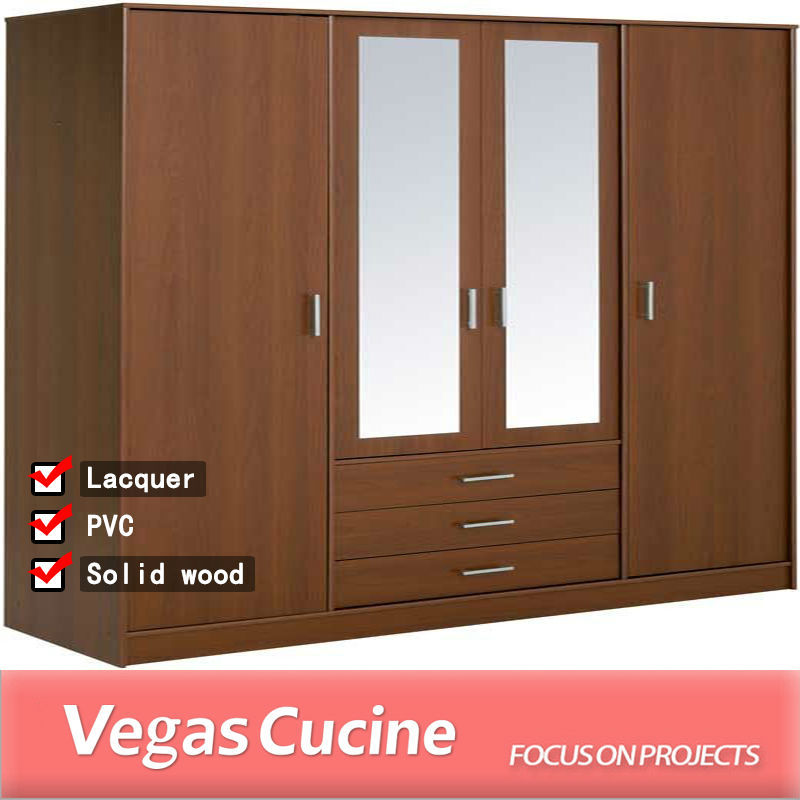 Superior Wooden Furniture Clothes Cabinet 5656