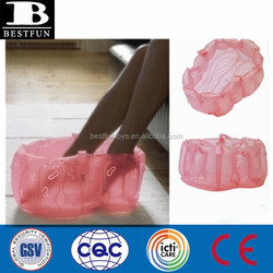 High quality inflatable foot tube heat resistant foot bath massage tube portable durable foot tube