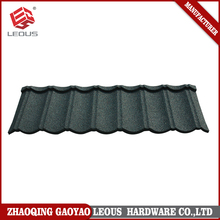 Light weight color sand coated metal roof tile
