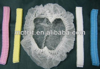 China supply disposable pp non-woven mop cap for food processing/industry work hairnets