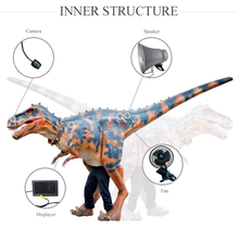 China factory for Cetnology-High Simulation adult realistic dinosaur costume animatronic dinosuar costume