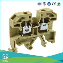 UTL China Supplier Cable Joint Sek-2.5 Screw Clamp Terminal Block Din Rail