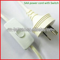 Home appliance application power extension cord au power cords & extension socket