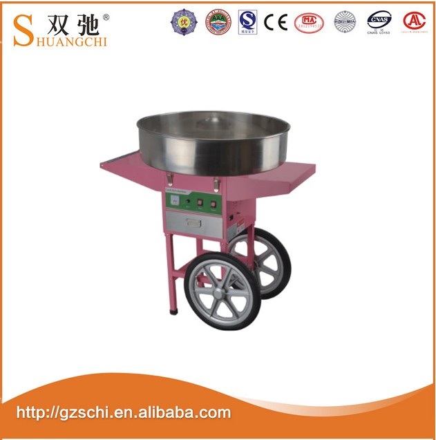 China supplier hot sale Commercial CE electric cotton candy machine Candy Floss Machine for wholesale
