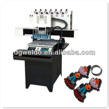 weldo 12 colors dispensing machine for silicone bracelet