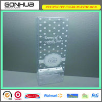 beauty best quality fancy hot sale custom color printed white new clear plastic crown box packaging wedding favors guest gifts