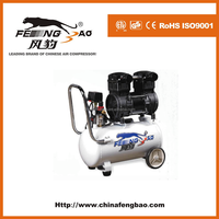 small oilfree portable 40L air compressor