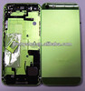 Original housing for IPhone 5 back cover with small parts green