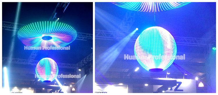 transparent strip pantalla LED