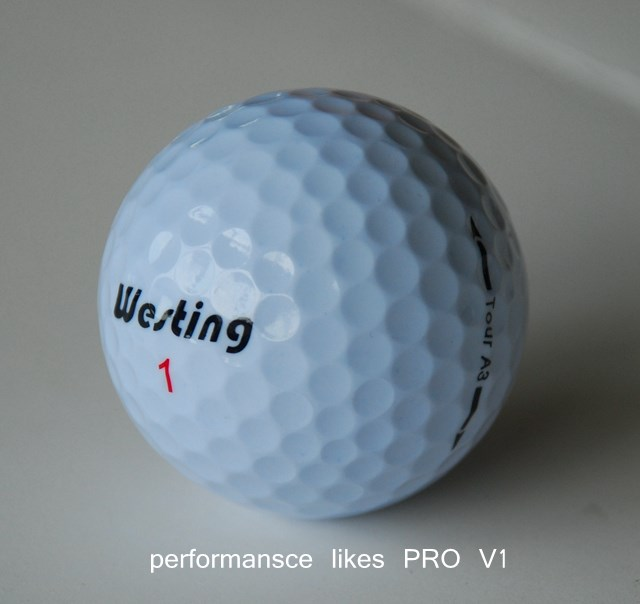 wholesale top quality 3 piece tournament golf ball 1 dozen/pack
