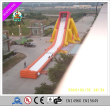 hot sale giant inflatable slide inflatable slip and slide for adult