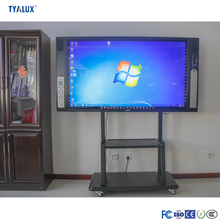 Customized 98Inch portable free standing interactive whiteboard