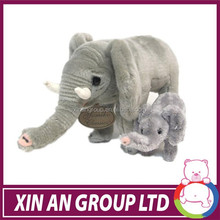 cute cheapest elephant toy,plush elephant toy,pink colour plush elephant toys with long teeth