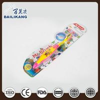 Kids tooth brush with print logo, soft kids tooth brush, children oral care products