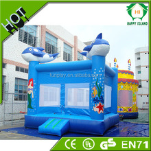 Hot Sale CE Certificate inflatable kids jumping buncer