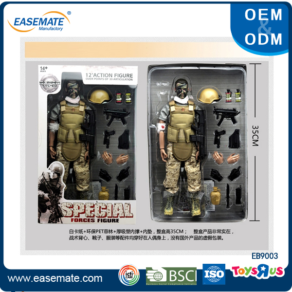 High Quality Toy Soldier 12-inch action figure play set