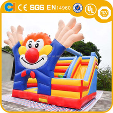Inflatable jump castles bouncy castle with slide funnny game house for sale