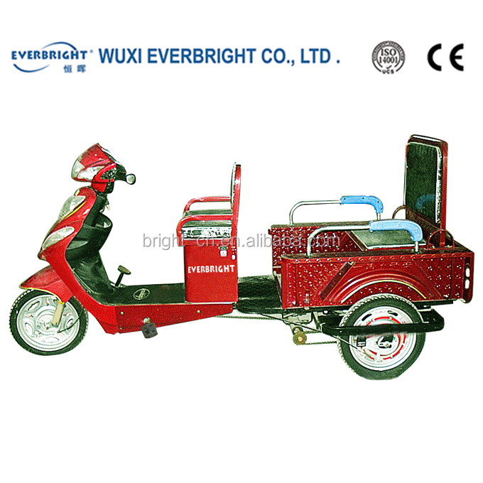 new electric pedal rickshaw passenger tricycle motorcycle made in china
