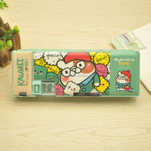 wholesale double sides pencil case for school DMS034