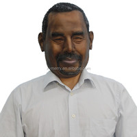 X-MERRY full head great doctor US ben carson Latex Mask Realistic Mask For Halloween Fancy Dress