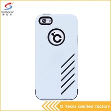 Wholesale bulk cheap double color in one mobile phone case for iphone 5c