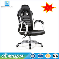 Q018 China Manufacturer Cyber Cafe Furniture High Back Ergonomic Gas Lift PU Leather Racing Style Office Chair