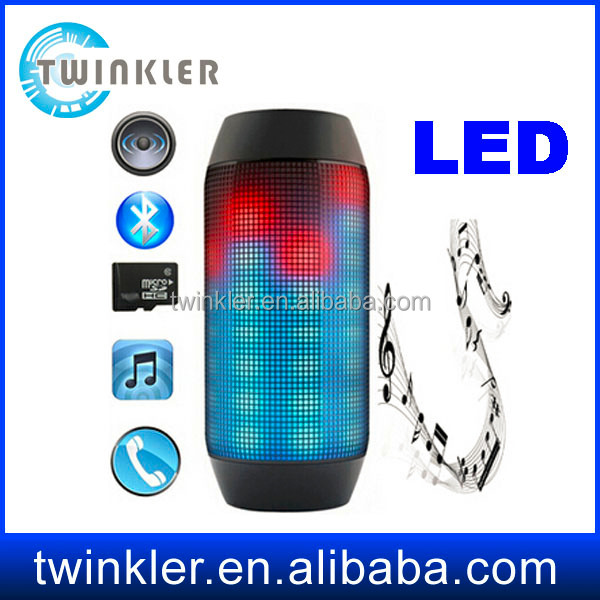 Pulse Blutooth Speaker with Led Flashing light Bluetooth Speaker with USB