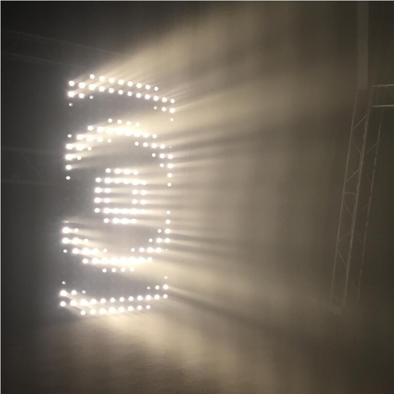 3W 36Leds Indoor led Matrix Blinder light for stage show event club bar decoration