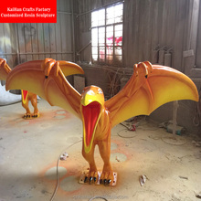 Hot Sale large fiberglass dinosaur sculpture statues