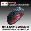 6 inch solid toy wheels solid tyre