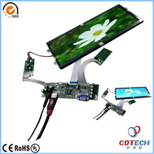 12.3 inches Touch Display TFT LCD Module with VGA and HDMI controler board