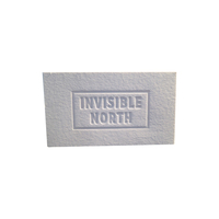 High quality custom print 800gsm cotton paper embossed business card