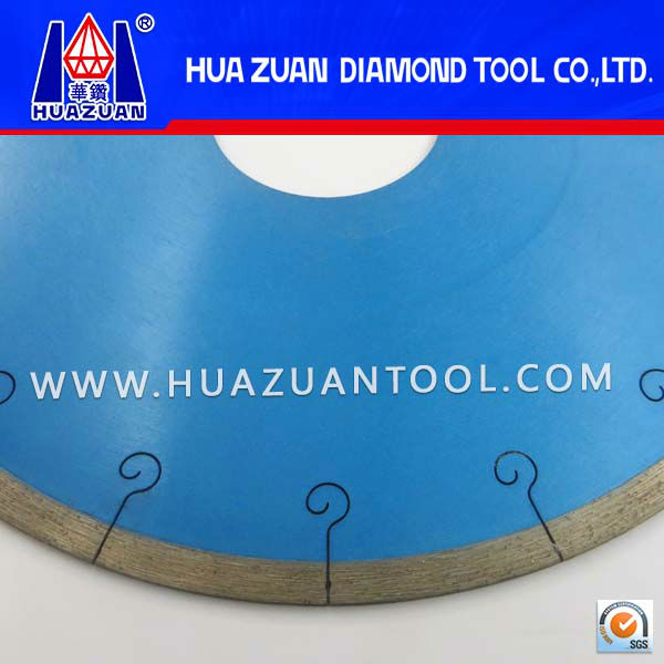 Sintered Ceramic Continuous Rim J-Slot Blade