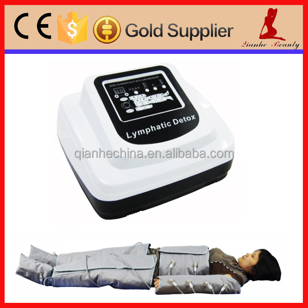 36V safety pressotherapy lymphatic drainage machine