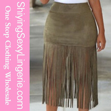 New Fashioned Luxury Pretty Wholesale fringe skirt
