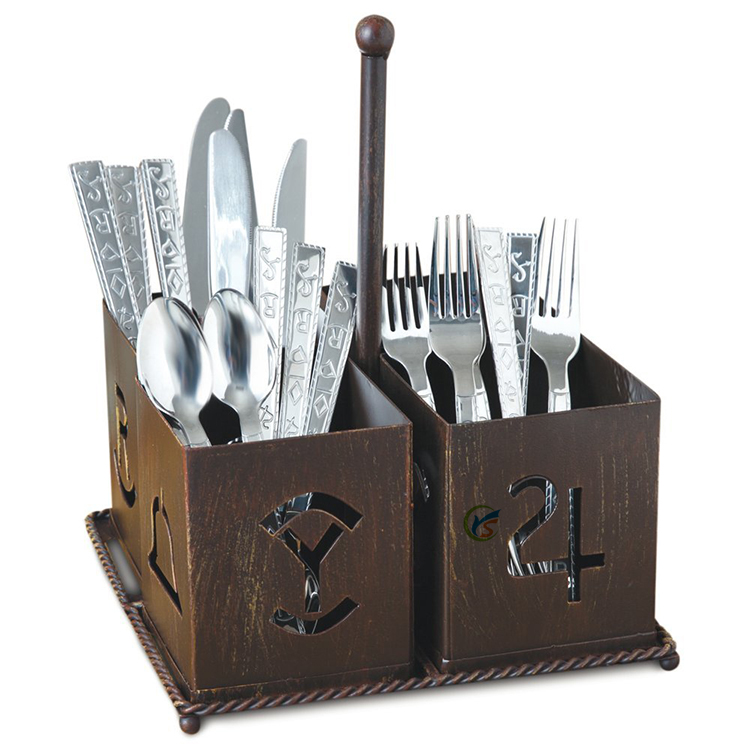 Rustic Utensil Caddy