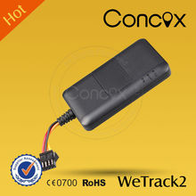 Concox fleet management mini WeTrack2 Car/Truck/Motor GPS+GPRS+GSM Quad Band Tracker Car speed limiter