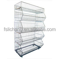 five layer promotional wire rack C-2