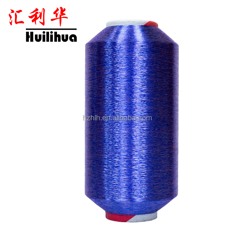Dope Dyed Filament Yarn 100% Spun Polyester Yarn Manufacturer In China For Necktie