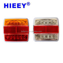E-MARK Led Trailer Light IP67 truck tail lamp waterproof rear combination tail lamp for truck and trailer